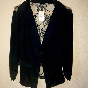 Black Rue 21 casual dress jacket